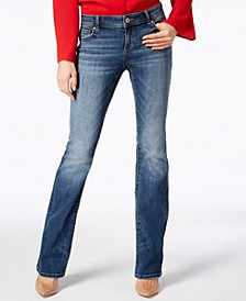 INC INCEssentials Curvy-Fit 5-Pocket Bootcut Jeans, Created for Macy's