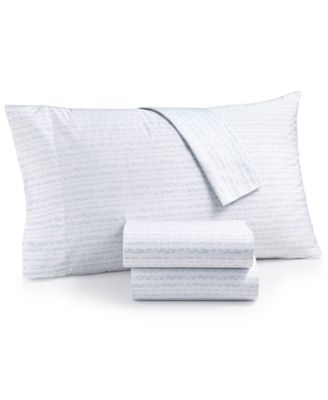 CLOSEOUT! Organic Printed Pillowcase Pair, 300 Thread Count GOTS Certified, Created for Macy's