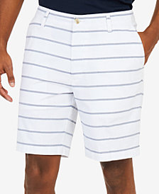 "Nautica Men's Classic-Fit Stretch Stripe 8.5"" Shorts"