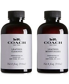 COACH Leather Cleaner Product Care Set