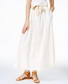 Weekend Max Mara Olivi Cotton Skirt