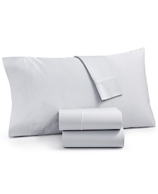 Martha Stewart Collection Organic 4-Pc. California King Sheet Set, 300 Thread Count GOTS Certified, Created for Macy's
