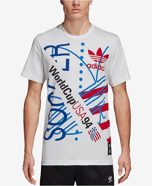 b738894a113 adidas Men s Originals 94 Tour Graphic T-Shirt   Reviews - T-Shirts ...