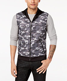 I.N.C. Men's Camo-Print Vest, Created for Macy's