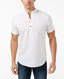 INC Men's Cameron Linen Shirt, Created for Macy's