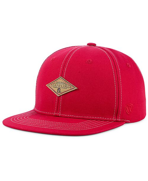 separation shoes 771f3 ab0fd Top of the World Stanford Cardinal Diamonds Snapback Cap ...