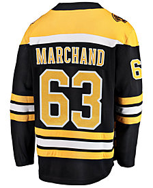 Fanatics Men's Brad Marchand Boston Bruins Breakaway Player Jersey
