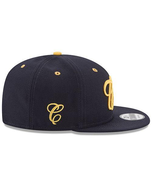 sports shoes ed806 121fb ... denmark new era. california golden bears mister cartoon 9fifty snapback  cap. be the first