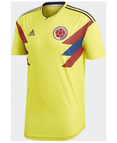 adidas Men's Colombia National Team Home Stadium Jersey