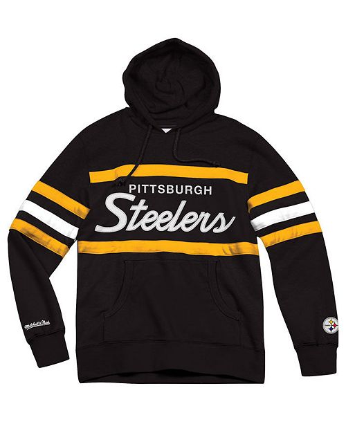 Mitchell   Ness Men s Pittsburgh Steelers Head Coach Hoodie - Sports ... fedc4dfc1