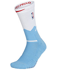 Nike Men's Sacramento Kings Elite Quick Crew Socks
