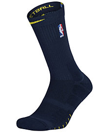 Nike Men's Denver Nuggets Elite Quick Crew Socks
