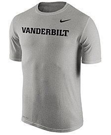 Nike Men's Vanderbilt Commodores Dri-Fit Legend Wordmark T-Shirt