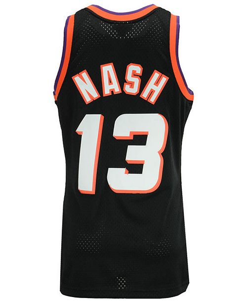 low priced 14cd5 6735f Men's Steve Nash Phoenix Suns Hardwood Classic Swingman Jersey