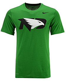 Nike Men's North Dakota Fighting Hawks Dri-Fit Legend 2.0 Logo T-Shirt