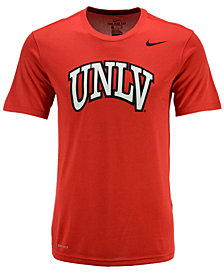 Nike Men's UNLV Runnin' Rebels Dri-Fit Legend Wordmark T-Shirt