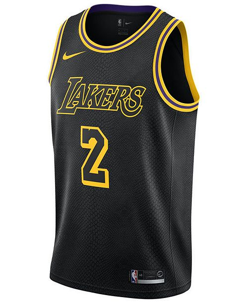 08adef01 Nike Men's Lonzo Ball Los Angeles Lakers City Swingman Jersey ...