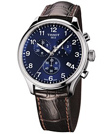 Swiss Chronograph Chrono XL Classic T-Sport Collection Leather Strap Watches