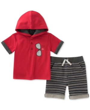 Calvin Klein 2-Pc. Hooded...