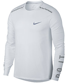 Nike Men's Breathe Rise 365 Running Long Sleeved Shirt