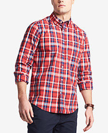 Tommy Hilfiger Men's Kutcher Plaid Pocket Shirt, Created for Macy's