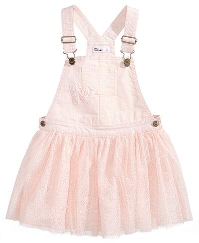 Epic Threads Glitter Mesh Skirtall, Little Girls, Created for Macy's