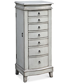Evelyn Jewelry Armoire, Quick Ship