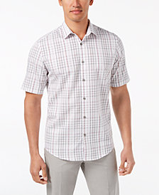 Alfani Men's Chilton Plaid Shirt, Created for Macy's