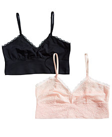 Lily of France Sensational Lace 2-Pack Bralettes 2179106
