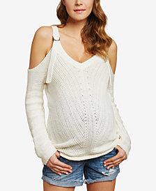 Jessica Simpson Maternity Cuffed Denim Shorts