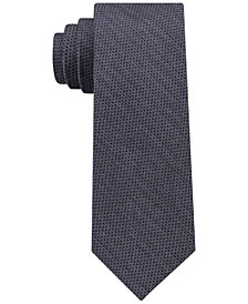 DKNY Men's Micro Denim Dot Slim Tie