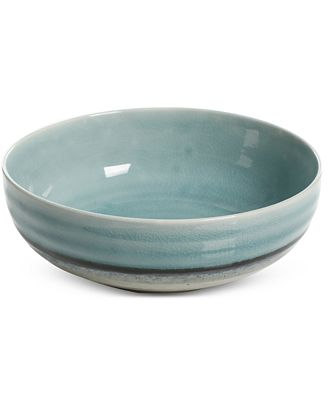 Gibson Reactive Glaze Cream Cereal Bowl, Created for Macy's