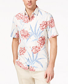 Tommy Bahama Men's Bradenton Blooms Textured Floral Shirt