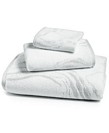 Hotel Collection Marble Turkish Cotton Fashion Wash Towel, Created for Macy's