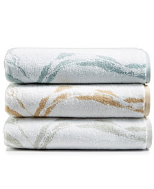 Hotel Collection Turkish Cotton Fashion Marble Bath Towel Collection, Created for Macy's