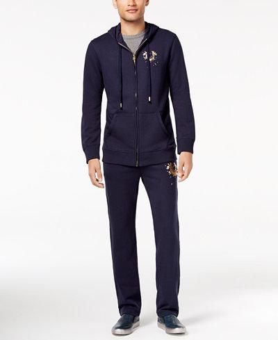 True Religion Men's Shattered Track Suit Separates