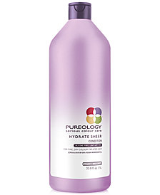 Pureology Hydrate Sheer Conditioner, 33.8-oz., from PUREBEAUTY Salon & Spa