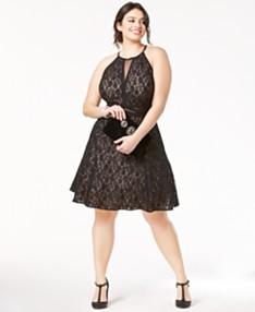 3b8ce8f492e35 Plus Size Prom Dresses 2019 - Macy's