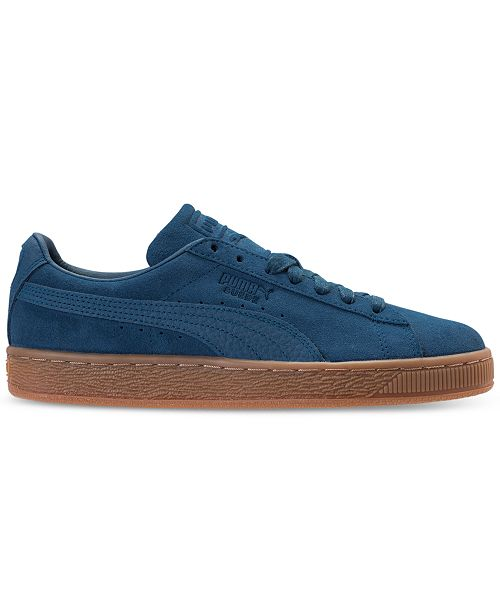 ... Puma Men s Suede Classic Natural Warmth Casual Sneakers from Finish ... a7a31264e