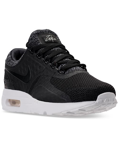 best website a4807 d261f Nike Men's Air Max Zero BR Running Sneakers from Finish Line ...