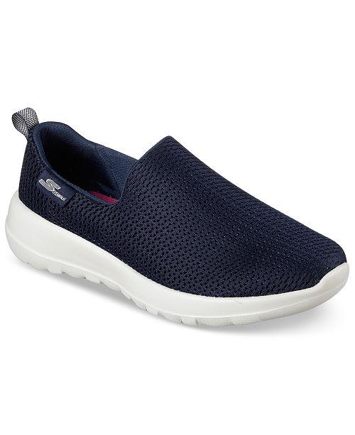 89bc3ff0c Skechers Women's GOwalk Joy Casual Walking Sneakers from Finish Line ...