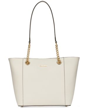 HAYDEN CHAIN STRAP LARGE TOTE
