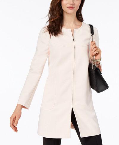 Alfani Petite Zippered Jacket, Created for Macy's