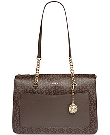 DKNY Bryant Signature Zip Tote, Created for Macy's