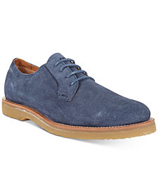 BOSS Men's Cuba Suede Lace-Up Derbys