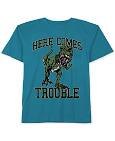 Dinosaur Graphic-Print Cotton T-Shirt, Little Boys