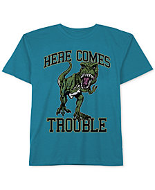 Jem Dinosaur Graphic-Print Cotton T-Shirt, Little Boys