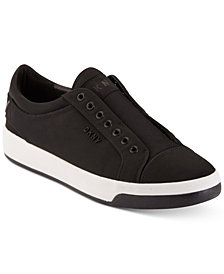 DKNY Men's Sam Nylon Slip-On Sneakers