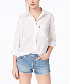 Levi's® Ryan Cotton Boyfriend Shirt