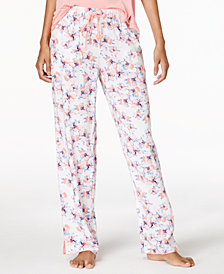 Alfani Woven Printed Pajama Pants, Created for Macy's